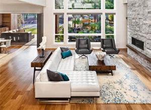 Virtual Room Designer - Room #2 Hardwood Flooring Option