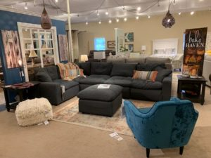 Sectional Sofas and End Tables
