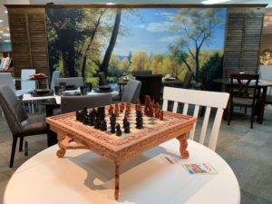 Dining Room Furniture - Chess Table