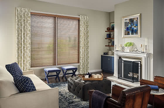 Natural Wood Blinds - Macomb IL